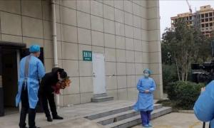 禹州市首例确诊病人痊愈出院。