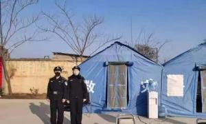 禹州韩城中心派出所一天拘留两名违法行为人:一个闯卡并殴打值勤工作人员;一个破坏防 ...