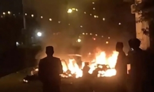 特斯拉碰撞起火,一名乘客死亡!