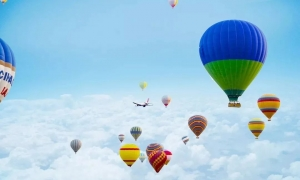 大事件!速来围观!网红热气球空降锦利·永安府 门票免费送送送 ... ...
